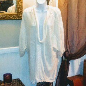Ashley Stewart Cowl Neck Knit Pullover Sweater